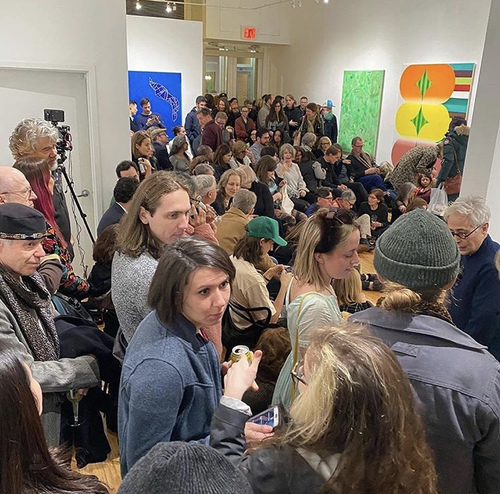 Surface Tension: Panel Discussion at Monica King Contemporary Art in Tribeca